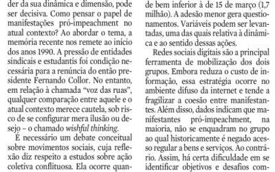 20 de dezembro de 2015, p. 14, seção Opinião JC