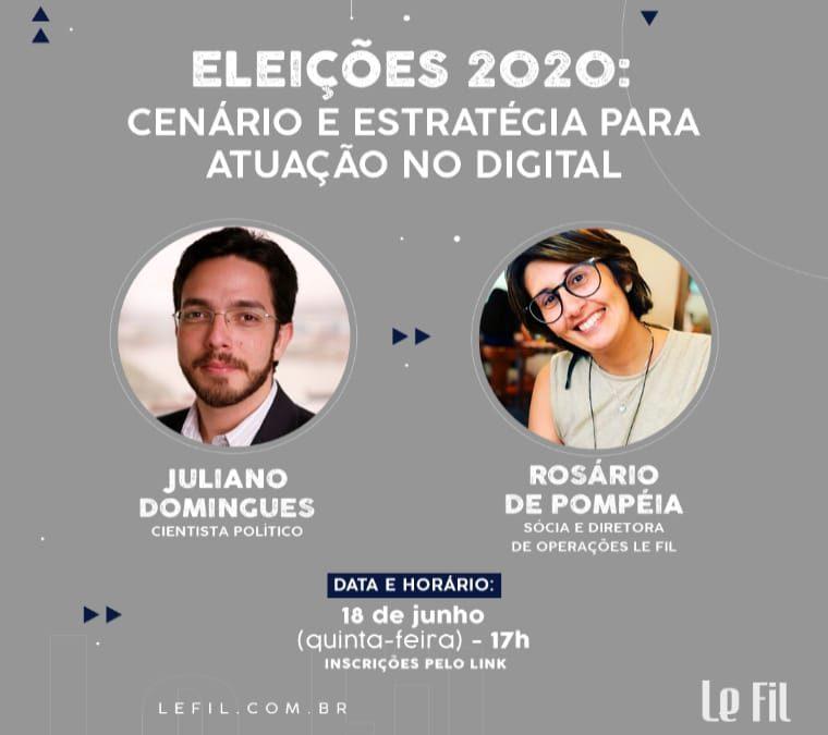 Eleição 2020: cenário e estratégia para atuação no digital